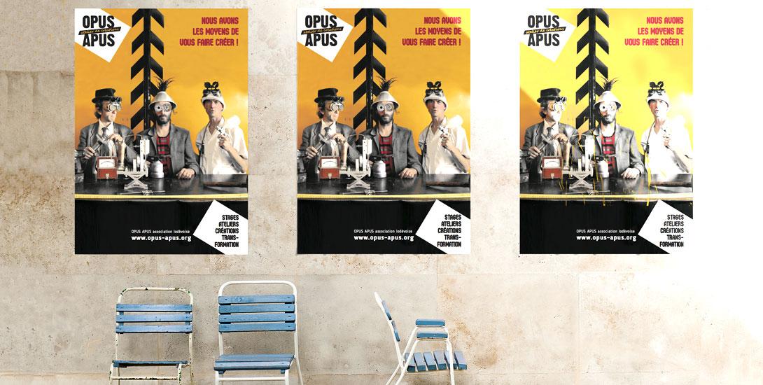 Affiche Atelier Opus Apus